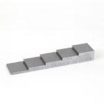 SIUI porrsspala 5-porrasta ruostumaton teräs (ss) stainless steel